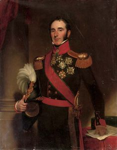Henry William Pickersgill - retrato de sir john conroy , 1st Bt