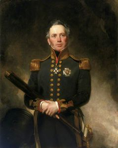 Henry William Pickersgill - Contra-almirante Sir Edward Brace