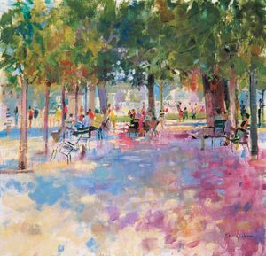 Peter Graham Ii - Tuileries , Em paris