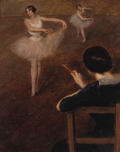 Albert Ernest Carrier Belleuse - O Ballet curso
