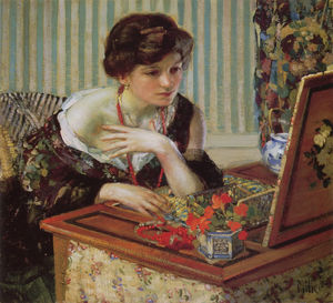Richard Edward Miller - ESCARLATE pescoço  Lace3
