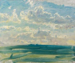 Alfred James Munnings - Study Sky -