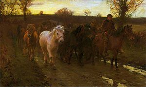 Alfred James Munnings - viajantes