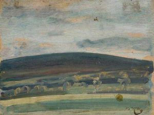 Alfred James Munnings - Withypool Hill, Exmoor -