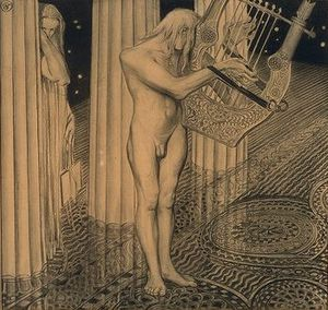 Stanislaw Wyspianski - At The Apollo Olymp