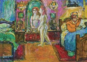 David Burliuk - quarto interior