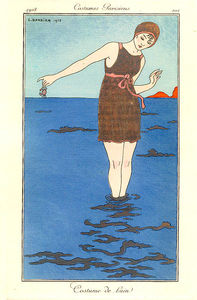 Georges Barbier - Costume De Bain