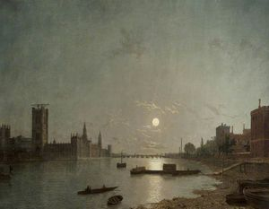 Henry Pether - Westminster no Luar