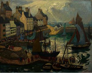 Richard Hayley Lever - Douarnenez, Brittany