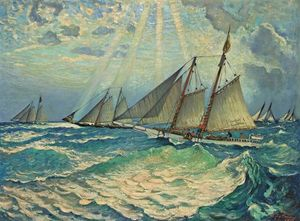 Richard Hayley Lever - Barcos Oyster