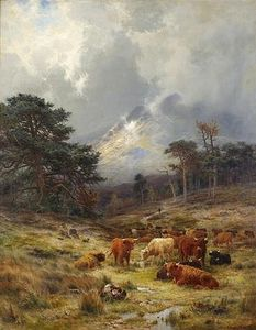 Louis Bosworth Hurt - braes no orchy , Argylshire