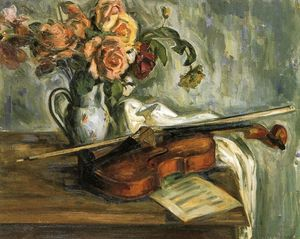 Louis Ritman - natureza violino