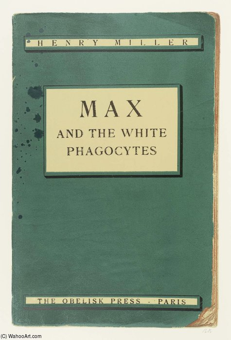 Max e The White fagócitos por R B Kitaj (1932-2007, United States)