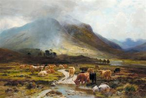 Louis Bosworth Hurt - em glen orchy , cedo outono