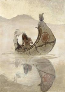Nc Wyeth - Hiawatha Pescaria