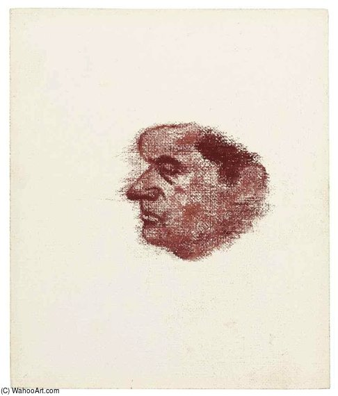 francis bacon por Ronald Brooks Kitaj (1932-2007, United States)