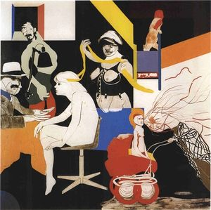 Ronald Brooks Kitaj - O Ohio Gang