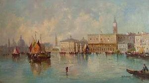 William Meadows - Santa Maria della Salute do Grande Canal