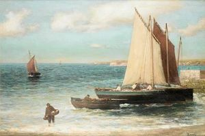Alexander Young - Fora The Harbour, Largo, Fife