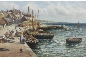 Alexander Young - `pittenweem` do porto
