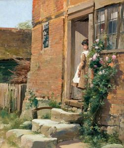 Alexander Young - The Cottage porta