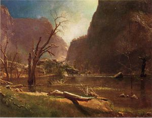 Albert Bierstadt - chocar hatchy vale califonia