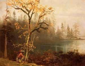 Albert Bierstadt - Indian Scout