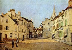 Alfred Sisley - Coloque em Argenteuil Sun