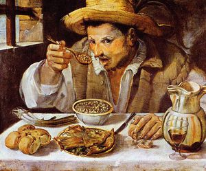 Annibale Carracci - o beaneater Sol