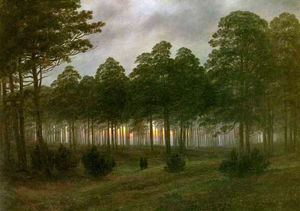 Caspar David Friedrich - Noite