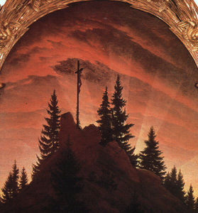 Caspar David Friedrich - A Cruz nas Montanhas