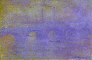 Claude Monet - a ponte de Waterloo. o nevoeiro