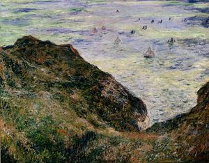 Claude Monet - vista sobre o mar