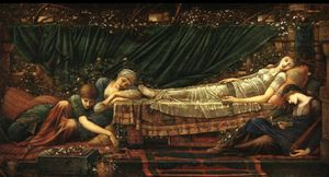 Edward Coley Burne-Jones - A Bela Adormecida