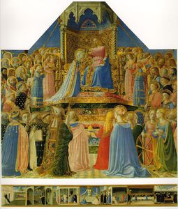 Fra Angelico - coroação do a virgem Retábulo de san Domenico