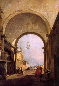 Francesco Lazzaro Guardi - sem título