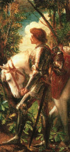 Frederick Waters (William) Watts - sir galahad