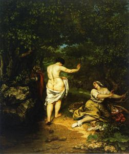 Gustave Courbet - As Banhistas