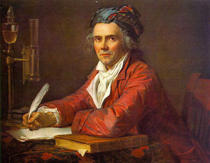 Jacques Louis David - Retrato de Alphonse Leroy