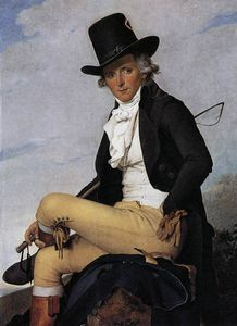 Jacques Louis David - Retrato de Pierre Seriziat