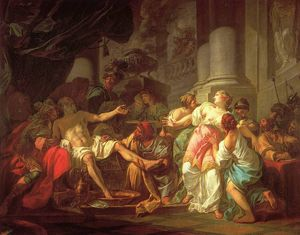 Jacques Louis David - A morte do Seneca