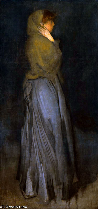 arranjo effie decanos  sol  por James Abbott Mcneill Whistler (1834-1903, United States)