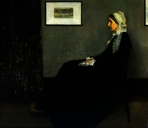 James Abbott Mcneill Whistler - Arranjo em cinzento e preto