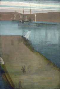 James Abbott Mcneill Whistler - Valparaíso porto
