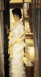 James Jacques Joseph Tissot - Retrato da senhorita Lloyd