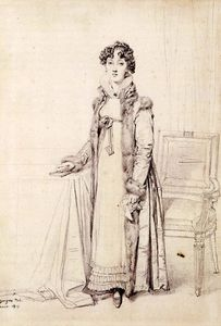Jean Auguste Dominique Ingres - Lady William Henry Cavendish Bentinck nascido Lady Mary Acheson