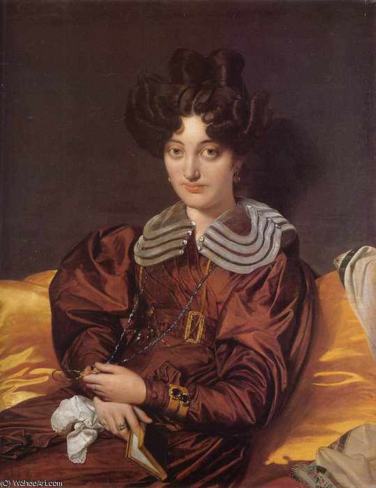 madame marie marcotte por Jean Auguste Dominique Ingres (1780-1867, France)