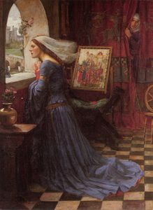 John William Waterhouse - justo rosamund