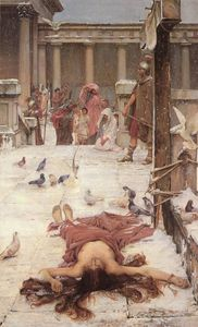 John William Waterhouse - St Eulália