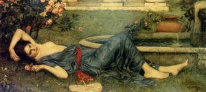 John William Waterhouse - doce verão